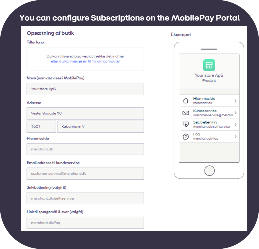 Frequently Asked Questions | MobilePay Developer
